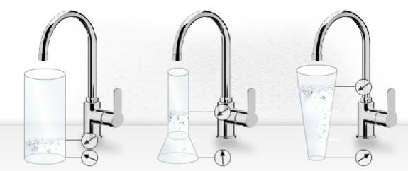 Fig. 3 Pressure ratio in open liquid