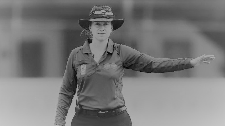 First Female Umpire to Officiate in Men's ODI: Claire Polosak