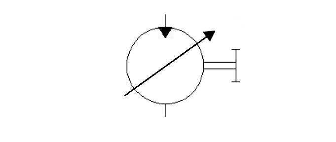 mono-direction-variable-displacement-motor