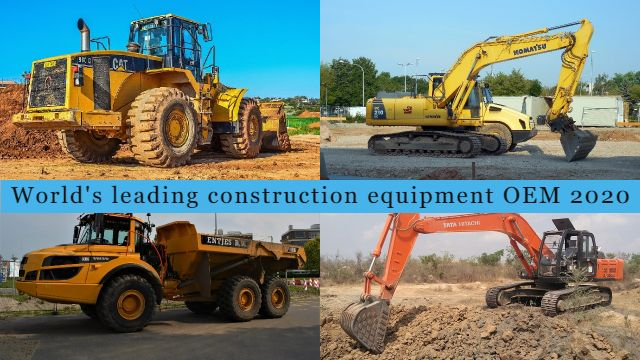 World's leading construction equipment OEM 2020