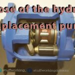 purpose of hydraulic displacement pump