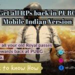 Get all RPs back