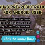 FAU-G Pre-Registration